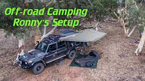 jeep camping gear off road camping setup youtube