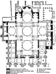 plan of st mark u0027s venice ad 929 u0026ndash 1063 clipart etc