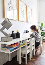 Kids Work Desk by Living With Kids Esther Van De Paal I Really Like The Way They