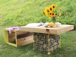 Garden Wooden Bench Diy by 11 Diy Pallet Patio And Garden Furniture Projects Shelterness