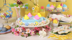 Easter Cake Decorations Cupcakes Are To Stand On The Table Cake Handmade Different Shapes