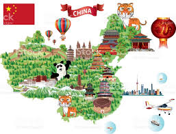 Beijing China Map by China Cartoon Map Stock Vector Art 672601970 Istock
