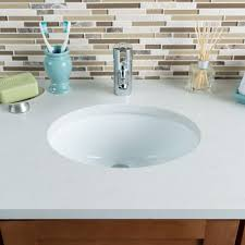 hahn ceramic vc012 small oval ceramic bathroom sink white