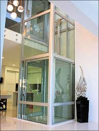 houses with elevators glass elevator