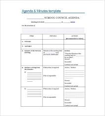 meeting minutes templates u2013 13 free sample example format