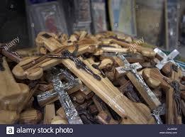 wooden crosses for sale israel jerusalem city pile of wooden crosses for sale to