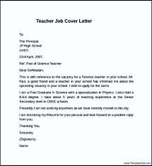 Enclosing My Resume Teaching Job Cover Letter
