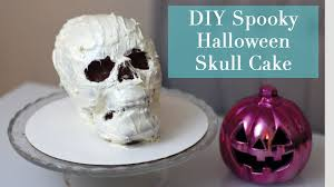 Spooky Halloween Cake Diy Spooky Halloween Skull Cake From Williams Sonoma Youtube