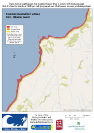 Fire Evacuations Nz by Wremo U2014 Tsunami Evacuation Zones Wellington City