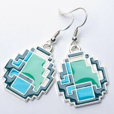 minecraft earrings minecraft diamond earrings great things to buy