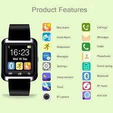 amazon com u watch smart watch bluetooth watch for android