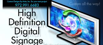 design definition in advertising designs by mote advertising hd digital signage dallas texas