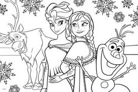 coloring pretty frozen coloring elsa anna