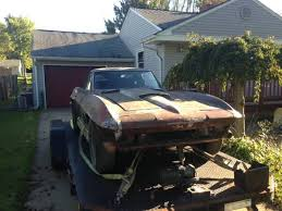 1972 stingray corvette value corvettes on craigslist 1967 corvette sting barn find