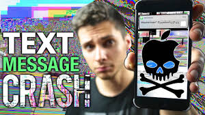 this text will crash u0026 break any iphone messages app youtube