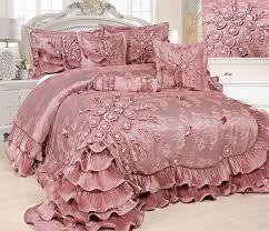 Waterfall Comforter Tache Home Fashion Royal Dreams 6 Piece Comforter Set U0026 Reviews