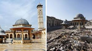 syria before and after heartbreaking before and after photos of aleppo syria so bad so good