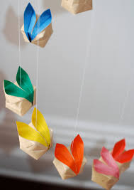 Easter Decorations For Office by Make Cute Origami Bunny Decorations For Easter