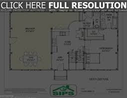 small house plans with open floor home design ideal plan for
