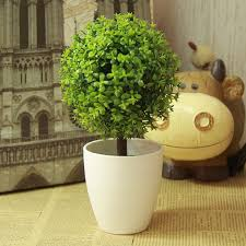 Artificial Topiaries - artificial topiary tree u0026 ball plants in pot garden home decor