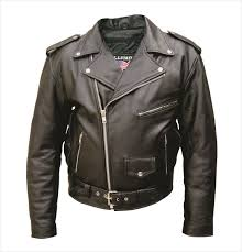 Tall Buffalo Leather Motorcycle Jacket W Zip Out Liner