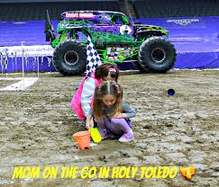 monster truck show in michigan monster jam fun mom on the go in holy toledo