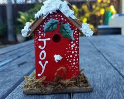 bird house ornament etsy