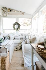 cozy farmhouse fall sunroom sunroom fall decor and cozy