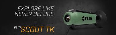 amazon com flir scout tk pocket sized thermal monocular sports