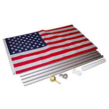 Christmas Tree Shop Flagpole by Olympus Flag U0026 Banner 20 Ft In Ground Flagpole Set By Olympus
