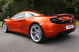 orange mclaren 12c used orange mclaren mp4 12c for sale rac cars