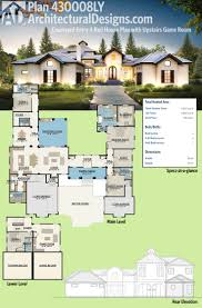 Courtyard Home Plans Ranch House Plans Williston 30 165 Associated Designs Floor With