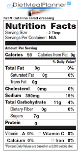nutrition facts label sauces spices u0026 spreads 13