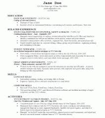 resume exles for students college studente exles beautiful graduate templates of shocking