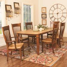 funiture amish furniture for 5 pieces dining room set with square