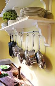 kitchen pot rack ideas kitchen shelving with pot rack kitchen storage pot