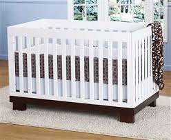 Babyletto Modo 3 In 1 Convertible Crib Babyletto Modo 3 In 1 Convertible Crib In Two Tone Espresso White