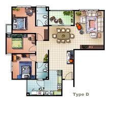 Home Floor Plans With Furniture House Plans Online Cheap Country House Plans Online With House