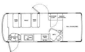 Winnebago Rialta Rv Floor Plans Vixen Motorhome In Plan Travel Trailers Pinterest Motorhome