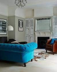 Blue Leather Armchair Blue Sofa U2013 50 Interior Design Ideas With Sofa In Blue That Are