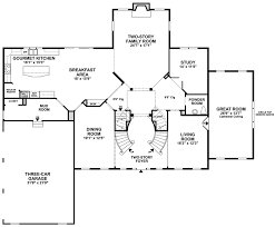 Country Floor Plans The Woods Of South Barrington Estate Collection The Harding