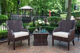 mila collection all weather wicker luxury patio furniture 2 person
