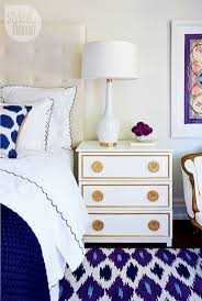 Best  Navy Gold Bedroom Ideas On Pinterest Navy Bedroom Walls - Blue and white bedroom designs