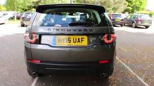 2017 land rover discovery sport trunk land rover discovery sport black edition hse youtube
