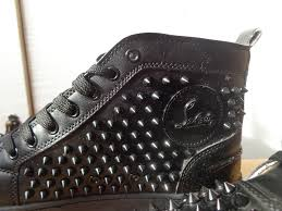 mens christian louboutin black trainers boots size 9 in langley