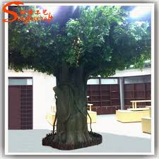 for restaurant wall decor artificial tree trunk customize plastic