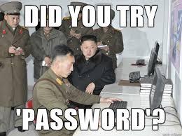 Password Meme - kim jong un forgot his password meme on imgur