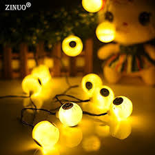 aliexpress com buy zinuo waterproof 5m 20led solar halloween