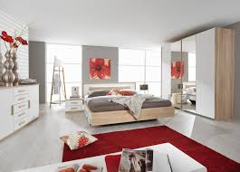 decoration chambre a coucher chambre moderne adulte blanche