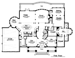 classical style house plan 5 beds 7 baths 5699 sq ft plan 119